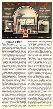 TIME article on proposed nuclear plant for New York City - 1963