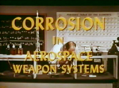 Corrosion in Aerospace Weapon Systems