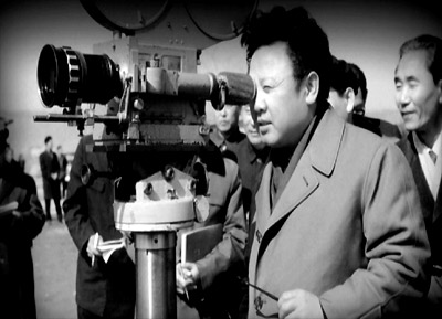 Kim Jong Il behinds the lens