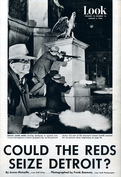 Look 1948: Could the Reds Seize Detroit?