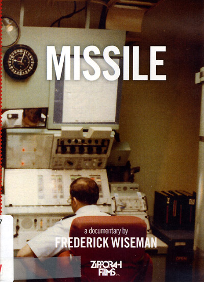 Frederick Wiseman's documentary MISSILE on DVD