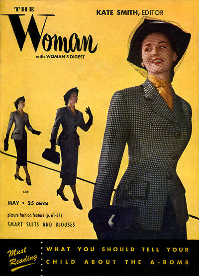 The Woman with Woman's Digest, May 1951
